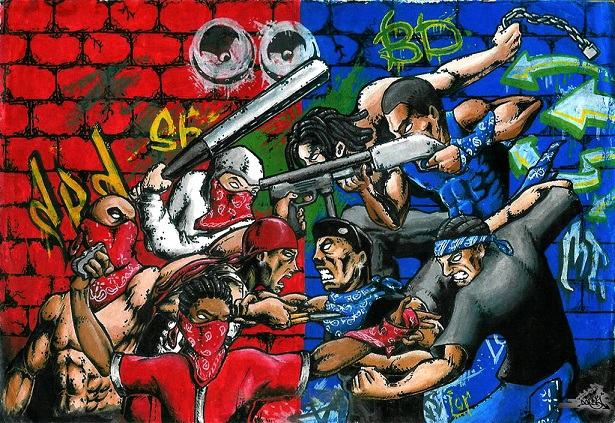 Explorations Interculturelles Culture Bloods Vs Crips