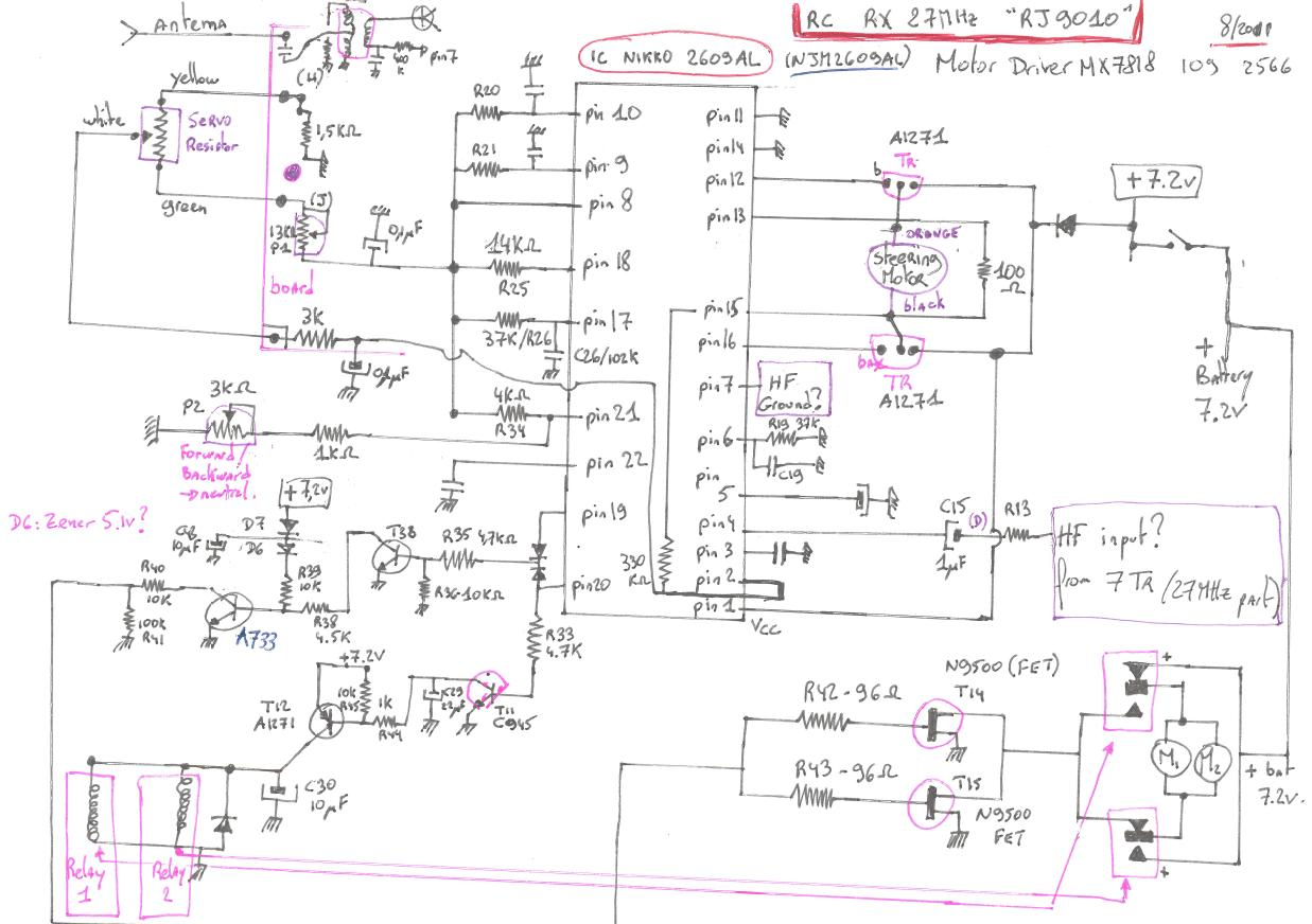 Electronic Circuit Board Schematic Diagrams Hand Drawn Schematics Wiring Data Schema Thierry Grandpierre Nikko Rh Perso Esiee Fr Diagram Symbols Firebird 2